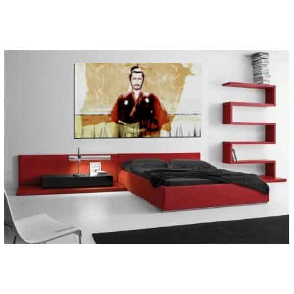 quadro camera-letto-Mifune